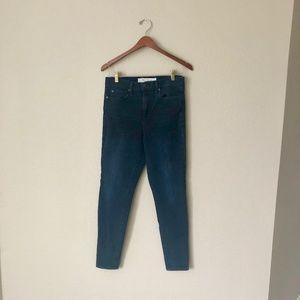 Gap High-Rise True Skinny Dark Wash Jeans
